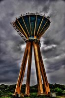 Big Water tower HDR by Seth890603