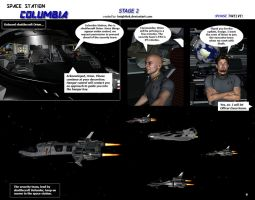 Space Station Columbia - Stage 2  - page 9 by KnightTek