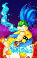 Larry Koopa by YukiPyro