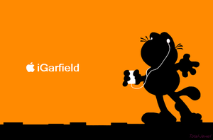Ipod- Garfield by Total-Jewel