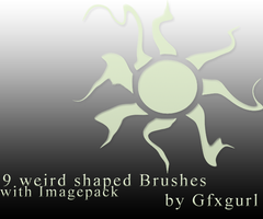 Weird Shapped Brushes. by gfxgurl