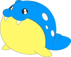 Mr. Seal the Spheal by kasanelover