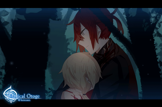 Magical Otoge Animation: Past Anton by batensan