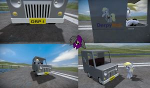 Derpy's Derpmobile (Texture only) + DOWNLOAD LINK by DE-0666