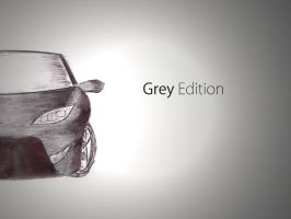 Grey Car by rashaderooth