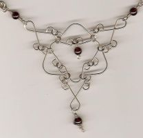 Garnet Wirework Centerpiece by DonaIvanova