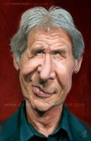 Harrison Ford by David-Duque
