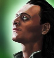 Loki Stares - REVAMPED by mikah1337