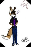 -Gender Bent- Chisso Fennec by danyMVG