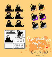 Pumpkaboo Retro Sprites by SoftcoreMirth