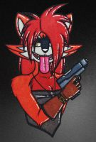 I'LL SHOOT CHA HARDER. by Unchained-Malady