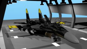 Russian SU 37 Terminator  -Yellow 13 paint- by Marksman104