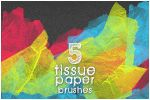 Tissue Paper Brushes by spandexcrusader