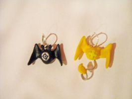 DGM Golems - earrings by Just-an--Illusion