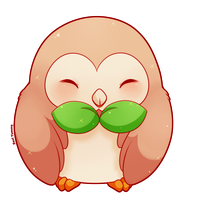 COMMISSION: Rowlet