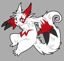 Day 1: Zangoose by Manicfool