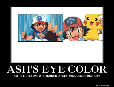 Ash's Eye Color: Black and White by The-Thermals-groupi