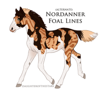 A2238 Nordanner Foal Design by pony-bones