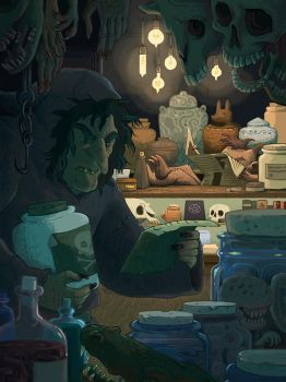 The Apothecary by rebekieb