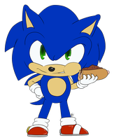 Chibi Sonic :animated: by Blue-Chica