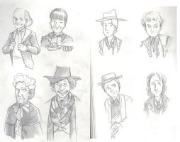 Eight Doctors by Alda-Rana