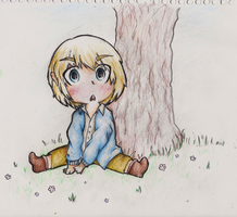 ARMIN IS KAWAII AS FRICK by Kat-The-Piplup