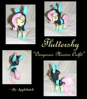 Dangerous Mission Fluttershy by ceramicpony