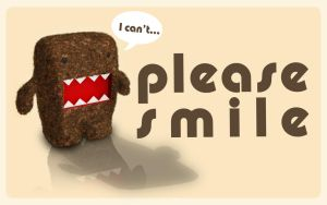Please Smile Domo-Kun by Eonn