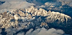 ITALIAN ALPS IN LATE AFTERNOON by CorazondeDios