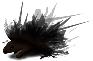 Porcupine2 by gonesketchy