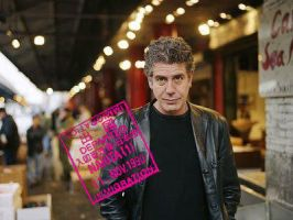 Anthony Bourdain by picturizr