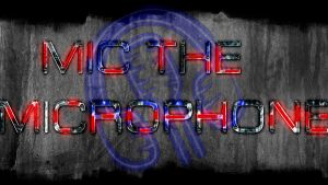 Mic the microphone futuristic wallpaper by neonbronie