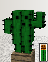 Mo' Golems - Cactus Golem by AbsoluteZero731