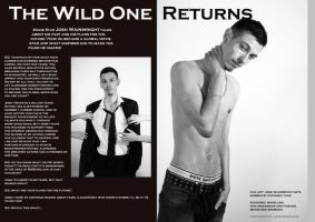 The Wild One .2 page spread. by princess06