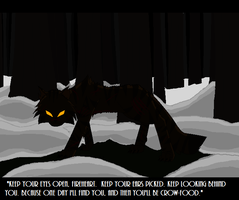 Tigerstar in the dark forest by AmyroseXDSonic