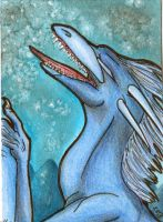 ACEO - Scream by Rachelance