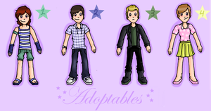 Adoptables! by EVIE128