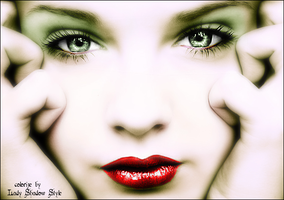Colorize: Expressive eye by LadyShadowStyle