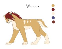 Character sheet2 - Wenona by it-ktdf