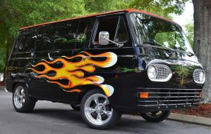 Flamin' Van by Nutdeep