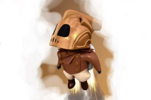 The Rocketeer Chibi by Deansta