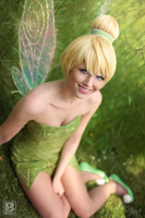 Tinker Bell smile by NicaCosplay