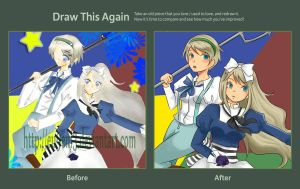 Draw This Again Challenge by adeliea