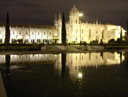 Places - Nocturnal Monastery 2 by Stock-gallery