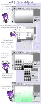 Halftone Tutorial by sashamya