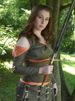 BBC Marian Cosplay--Robin's Not the Only Fighter by audrey-vista