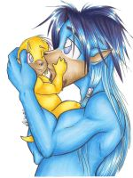 Father and Daughter -Rygel by ManueC