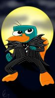 Perry the Pumpkin King by Stitch-Ohana