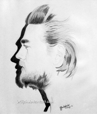 Charlie Hunnam portrait by Brilijah