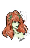 Poison ivy by WatchTehTail